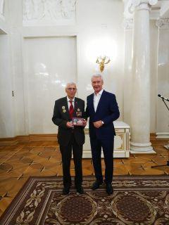 В.А.Бабушкину вручена государственная награда