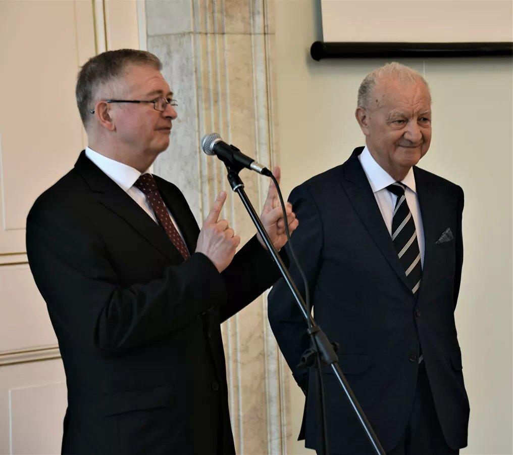 Орден Дружбы вручен Ежи Смолиньскому